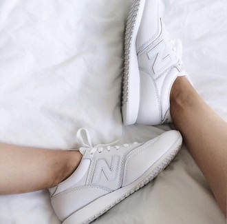 shoes new balance white sneakers white shoes