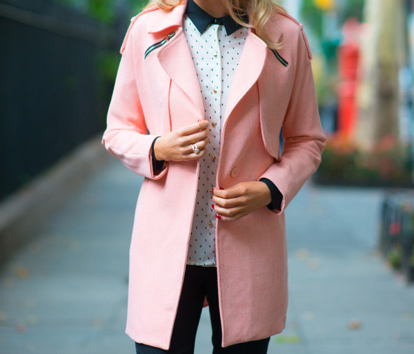 the classy cubicle blogger sunglasses polka dots