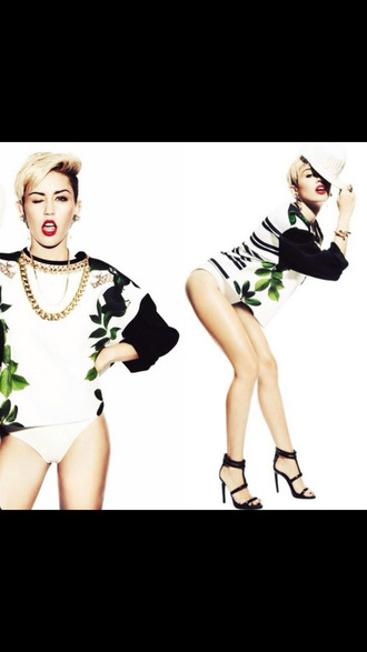 sweater miley cyrus hot girl sweatshirt model swag