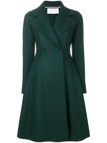 coat women wool green