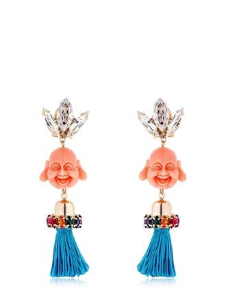 earrings multicolor jewels