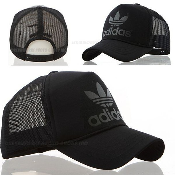 hat cap adidas trucker black adidas originals original fashion black cap  trucker hat trucker cap baseball b5042f65664