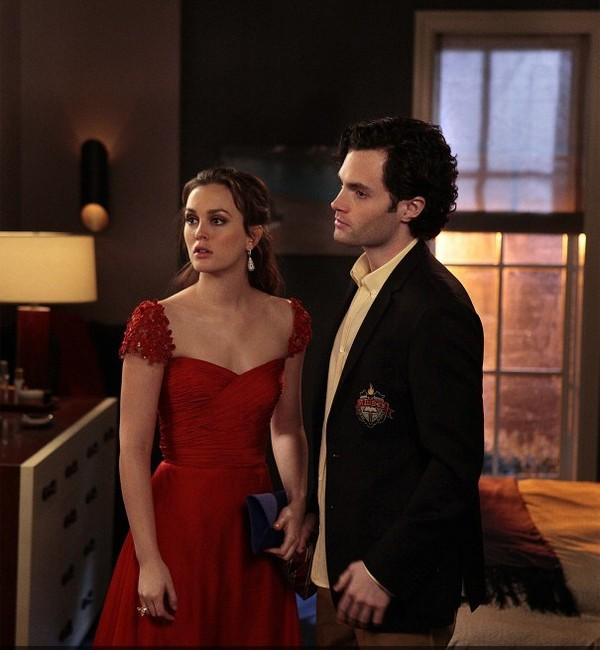 dress red dress gossip girl blair waldorf evening dress