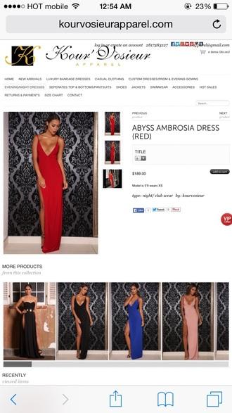 dress prom dress long dress long prom dress red long prom dress maxi dress maxi prom dress red dress slit dress gown evening dress