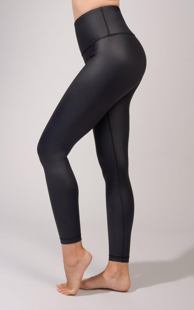 Faux Leather High Shine 7/8 Legging