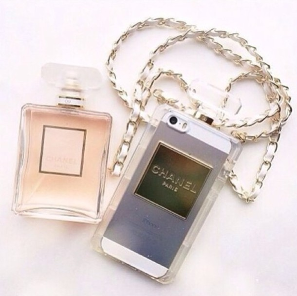 Jewels: chanel, ipadiphonecase.com, phone cover, coco - Wheretoget