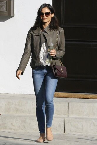 purse flats ballet flats jenna dewan bag shoes