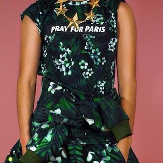 shirt jewelry pants pray for paris
