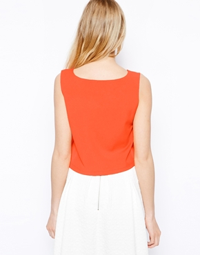 Fashion Union | Fashion Union Boxy Crop Top at ASOS