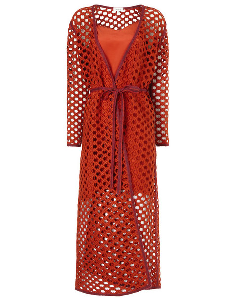 ISA ARFEN dress wool red