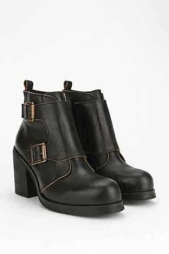 shoes boots black boots black boots leather leather boots boots black boots fall jeffrey campbell jeffrey campbell bootie