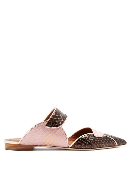 MALONE SOULIERS flats pink shoes