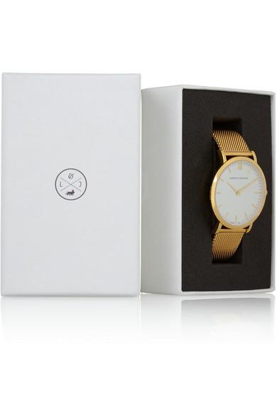 Larsson & Jennings|CM gold-plated watch|NET-A-PORTER.COM