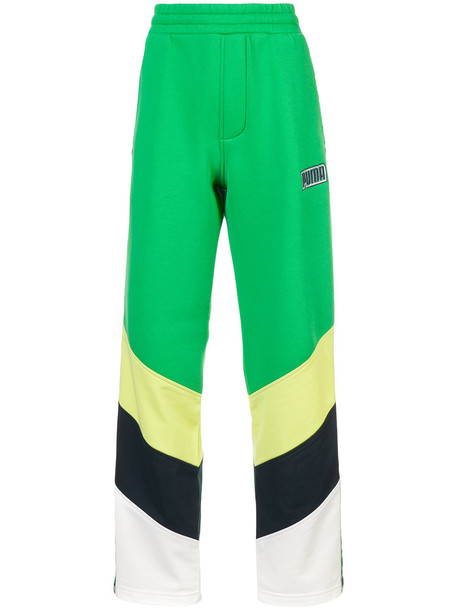 Fenty x Puma pants track pants women spandex green
