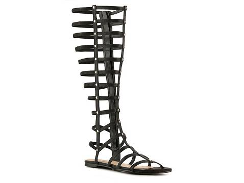 Nuts gladiator sandal