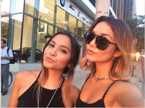 vanessa hudgens sunglasses jewels