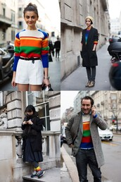 sweater,jumper,colorful,rainbow
