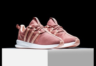 shoes rose pink adidas shoes low top sneakers pink sneakers adidas
