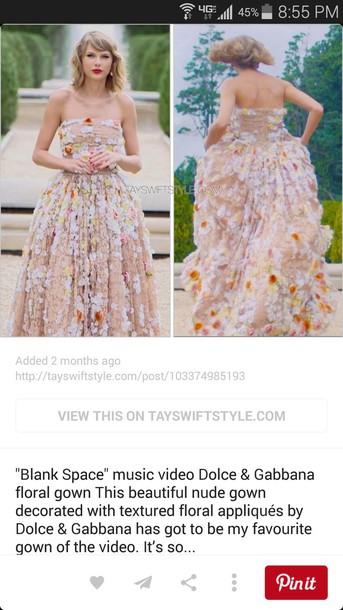 dress floral taylor swift dress
