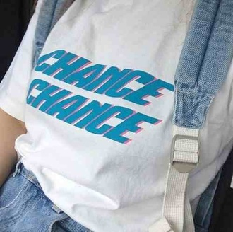 t-shirt shirt pastel white soft grunge pale grunge jeans backpack kawaii grunge kawaii chance tumblr hipster cute summer blue grunge t-shirt american apparel graphic tee white t-shirt