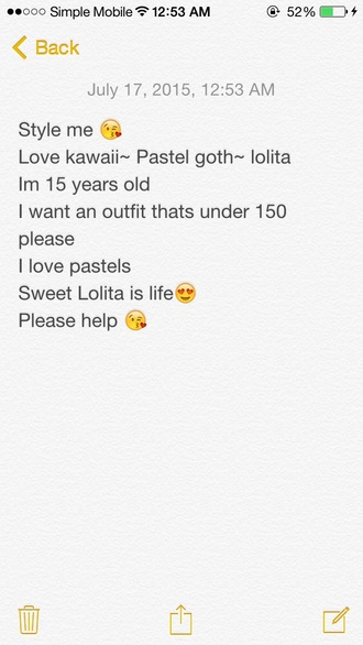 dress cute kawaii lolita pastel goth sexy choker necklace lovely shoes garter style style me