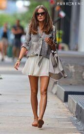 blouse,clothes,leopard print,zebra,skirt,beautiful,olivia palermo,beautiful bags,t-shirt