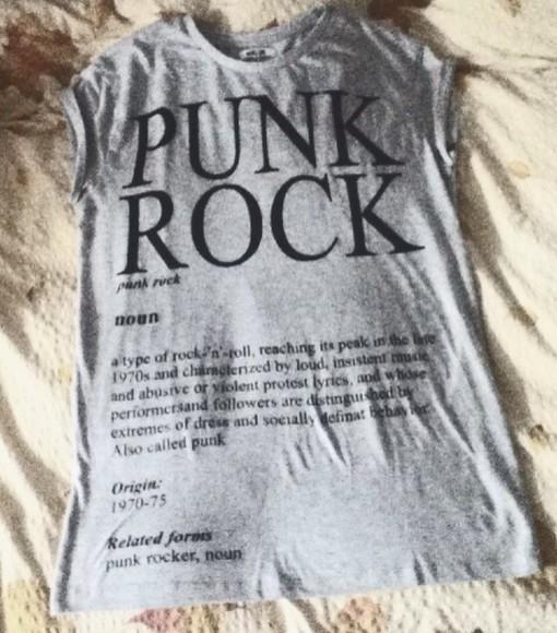 punk rock quote on it rock'n'roll