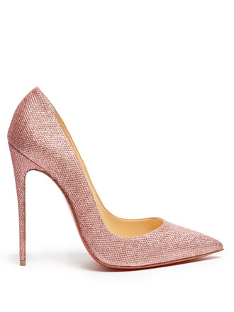 glitter pumps pink shoes