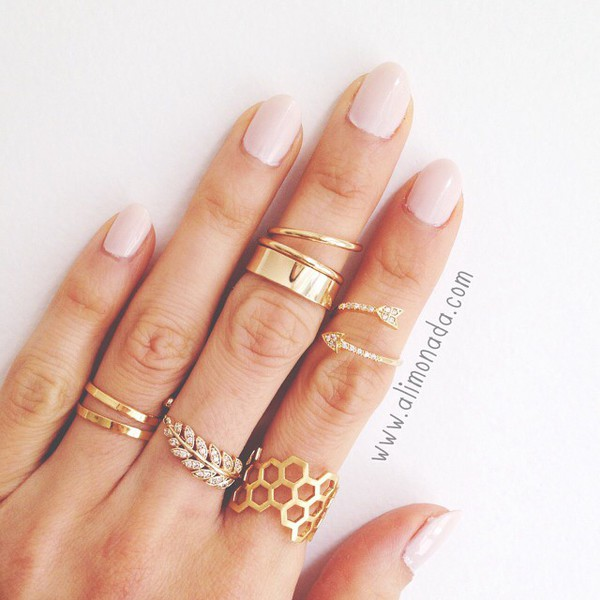 jewels rings and tings knuckle ring bague ruche bague liere