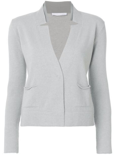 Fabiana Filippi cardigan cardigan women silk grey sweater