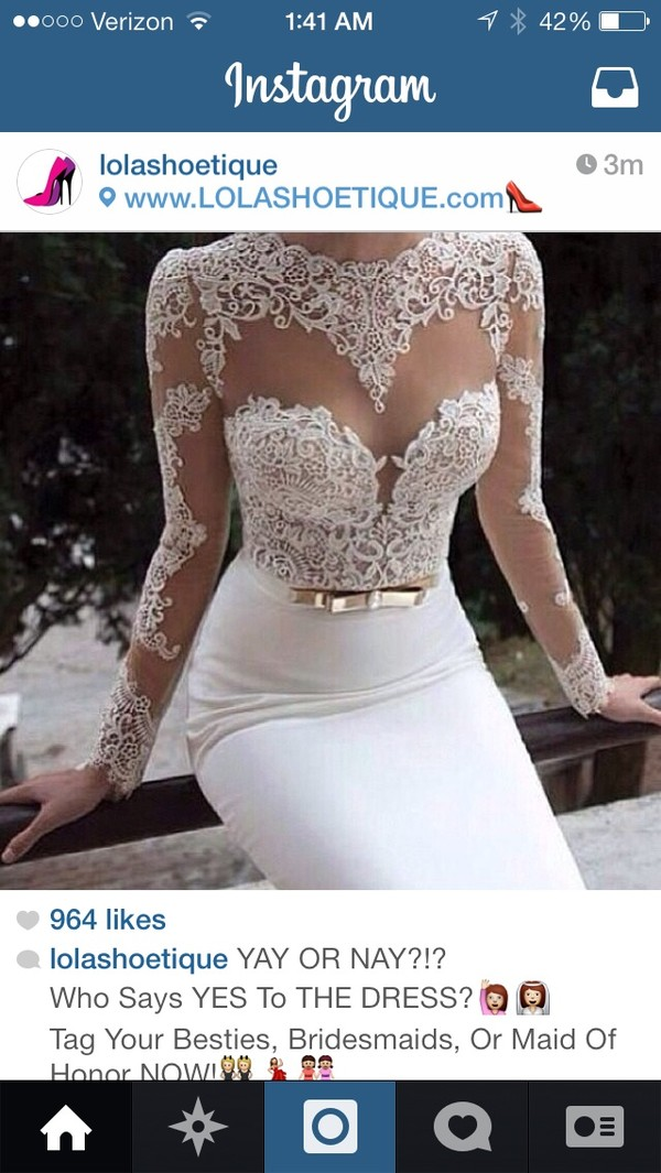 dress wedding dress sheer appliques