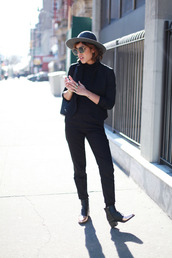 trop rouge,blogger,boyish,black jacket,black pants,jacket,top,pants,shoes,Gender Neutral,no gender,equality
