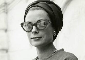 sunglasses grace kelly turban cat eye