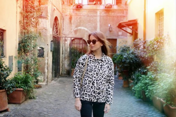lizzyvanderlight jacket bag shirt jeans shoes sunglasses