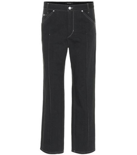 Isabel Marant Golky straight-leg jeans in black