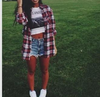 shirt coat cardigan shorts