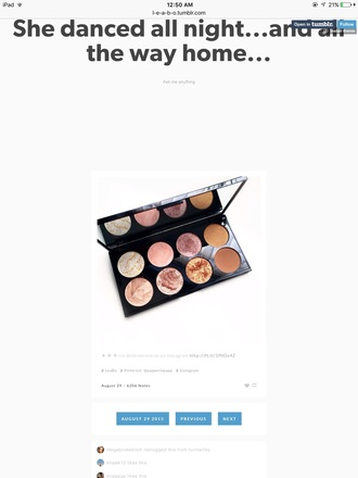make-up palette blushes pretty bronzer pink eyeshadow makeup palette eye shadow gold eyeshadow twitter find eye makeup contour blush highlighter cheek blush shimmer pinks rosy bronze brand highlight pale