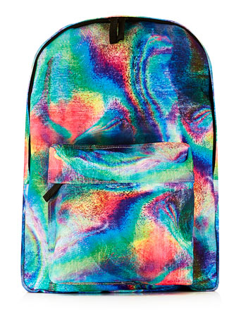 OIL SLICK BACKPACK - TOPMAN