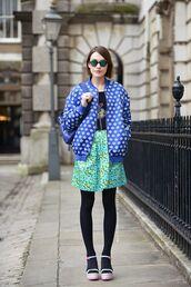 jacket,blue jacket,printed jacket,lips,bomber jacket,strettstyle