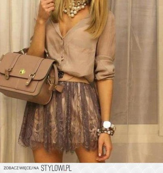 love skirt beauty amazing chique this clothes fashion blouse