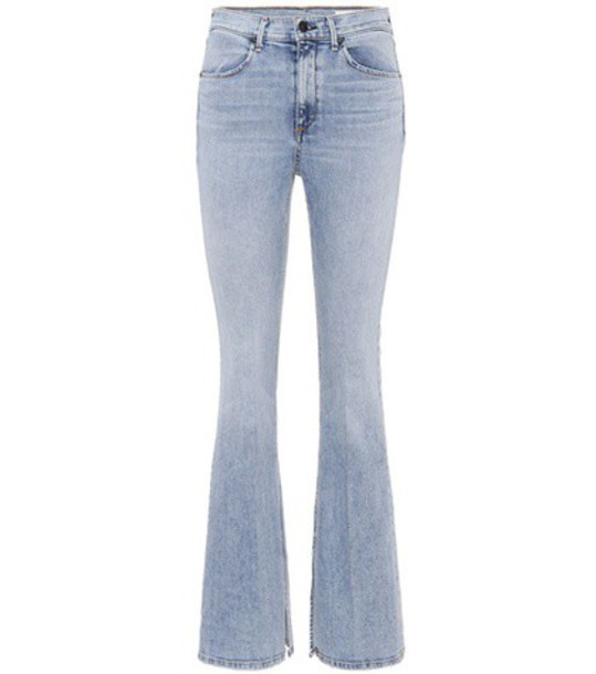 Rag & Bone jeans flare jeans flare high blue