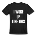 Online Shop I Woke Up Like This T Shirt Men FLAWLESS Shirt Beyonce Shirts T-Shirt 14 Colors Mens Clothing With Short Sleeve|Aliexpress Mobile
