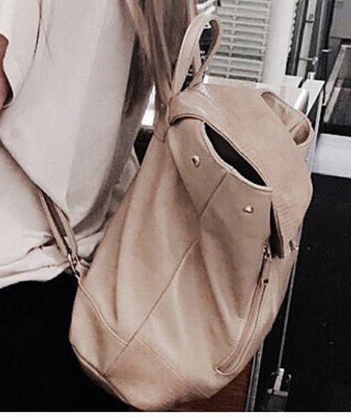 bag from jess conte color: creamy