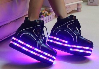 shoes light up shoes sneakers lights neon led shoes led light up shoes