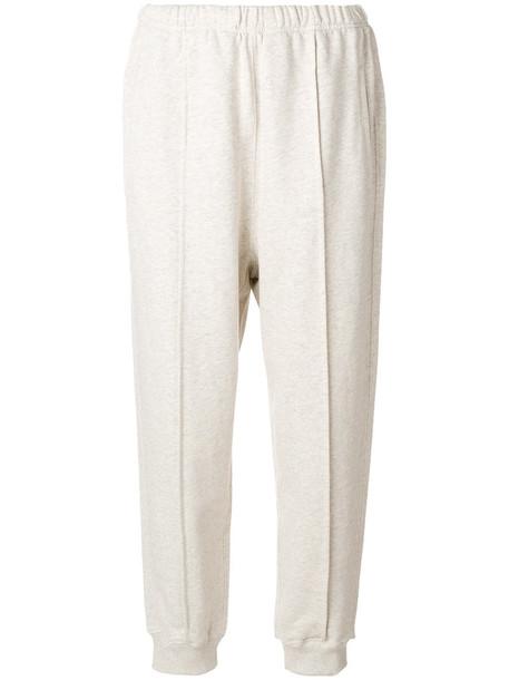 Sofie D'hoore - elasticated waist trousers - women - Cotton - S, Nude/Neutrals, Cotton