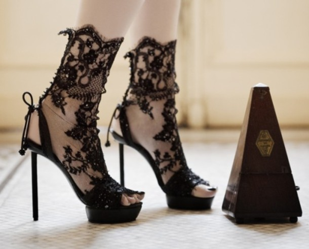 shoes black lace high heels blaack lace black lace heels black lace black high heels black heels black  high heels black lace high heels strappy heels lace stiletto
