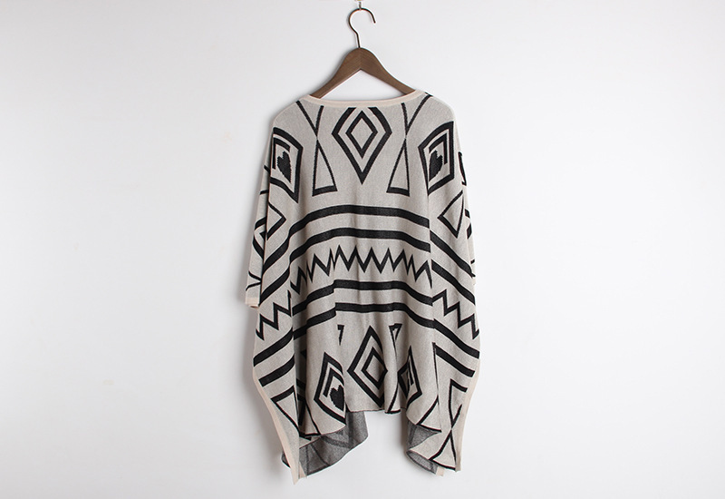 High Quality Europe style Streetwear long aztec Tattoo sweater cultivate one's morality show thin shawl geometry cardigan coat-in Cardigans from Apparel & Accessories on Aliexpress.com