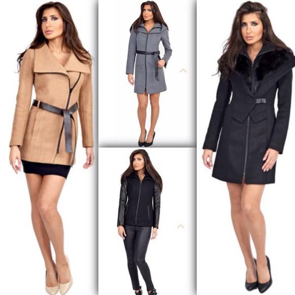 jacket coat winter jacket winter coat fashion style elegant clothes jackets coats outerwear fleece jackets fleece coats outerwear