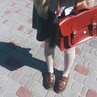 bag красная сумка back to school preppy school bag