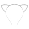 Rhinestone cat ear headband -shein(sheinside)